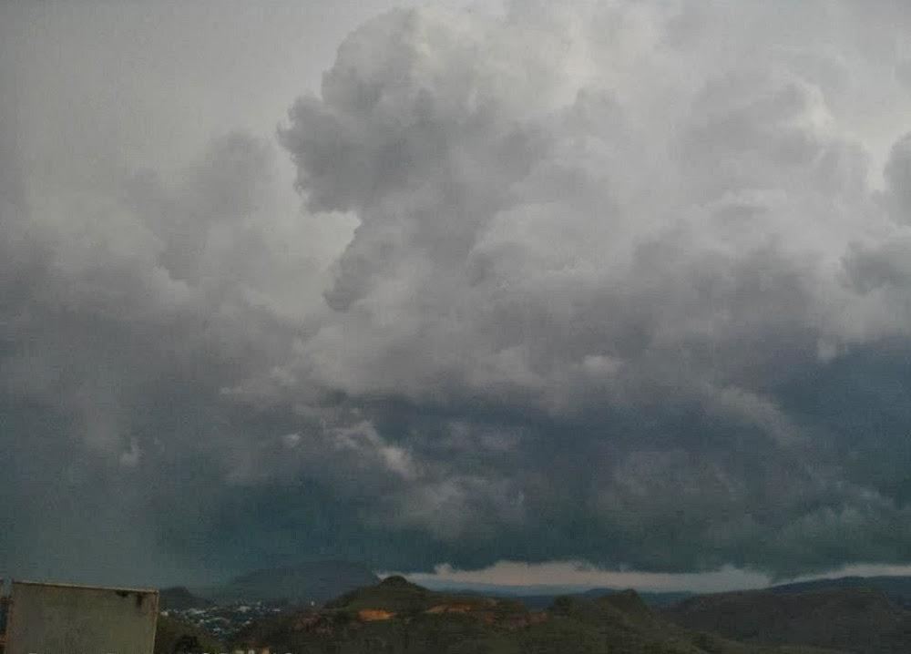 Chuva em Tasso Fragoso