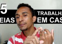 TRABALHAR EM CASA – 5 IDEIAS PARA TRABALHAR EM CASA INVESTINDO POUCO